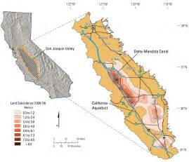 map of san joaquin valley california in own words usgs hydrologist discusses subsidence in
