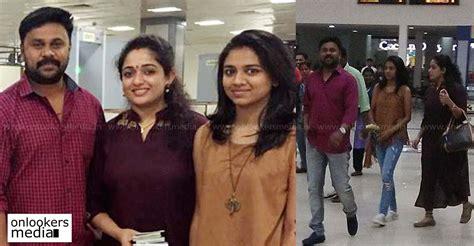 age of film actor dileep dileep and kavya madhavan in dubai for honeymoon daughter