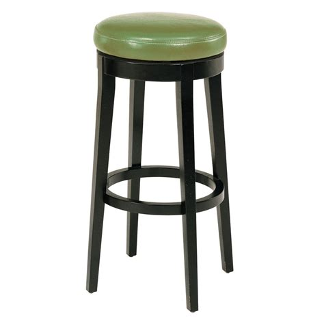 26 Bar Stools Swivel | backless swivel bar stool espresso 26 quot white bar stools