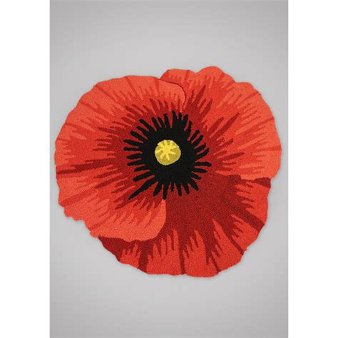 poppy flower rug second marketplace so floral rugs poppy