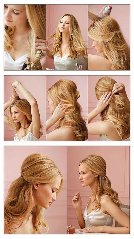 3 everyday hairstyles in 3 minutes 60 simple diy hairstyles for busy mornings