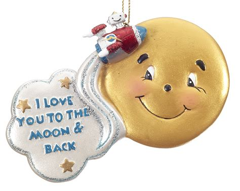 hallmark prnaments love you tomoon and back first christmsd i you to the moon back moon christmasornaments