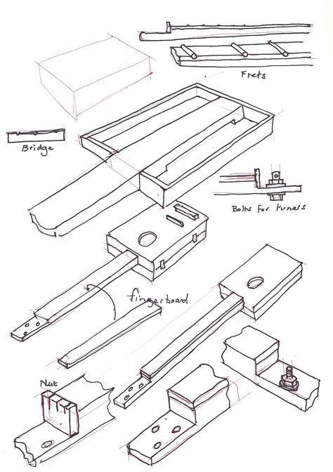 cigar box guitar wiring diagram piezo wiring diagram