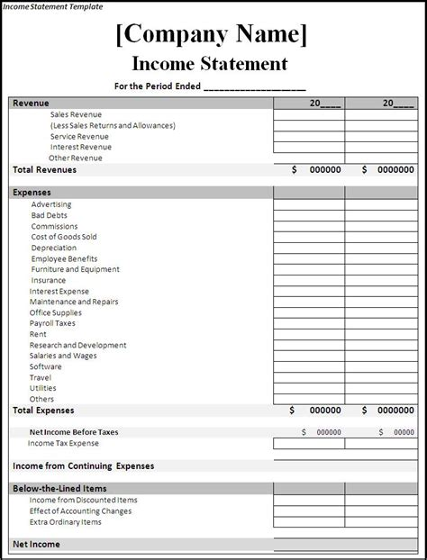 accounting software in excel format free download and small business
