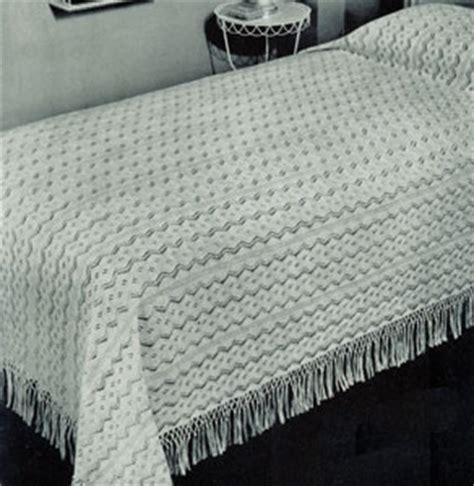 knitted bedspread patterns free west wind bedspread pattern 6057 knitting patterns