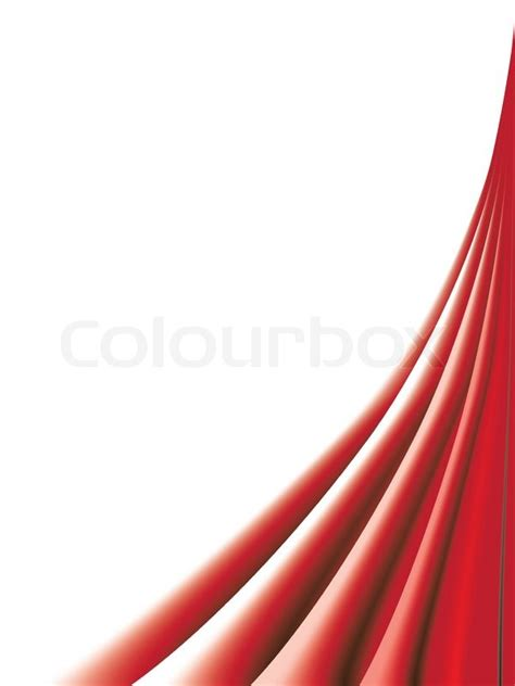 Home Design Plans 3d by Red Curtains On White Background Stock Vector Colourbox