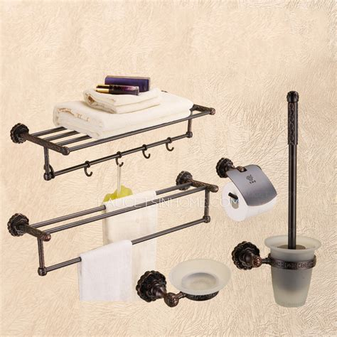 oil rubbed bronze bathroom set best oil rubbed bronze 5 set bathroom accessory sets with