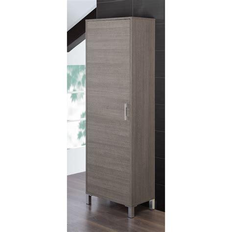 colonna armadio armadio bagno a colonna feridras bianco rovere