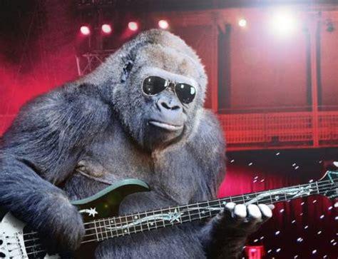 Gitar Animal Sometimes Nothing Beats Slapping The Bass Bass Gorilla
