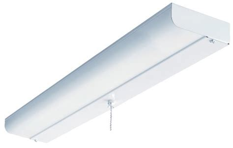 24 inch flush mount fluorescent ceiling closet light white
