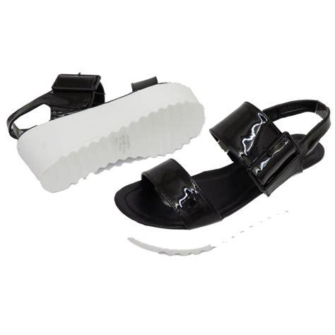 Platform Wedge Flats dolcis black flat form platform chunky sandals