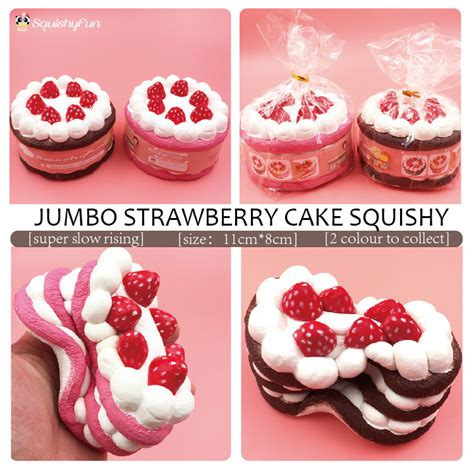 Soft And Slowrise Squishy Jumbo Connie aliexpress buy 11cm jumbo rising strawberry cake squishy simulation charm