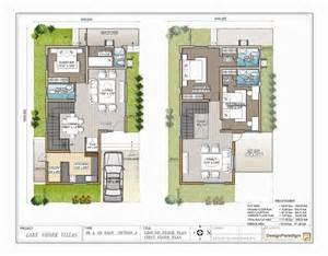 House Design 30x50 Site Lake Shore Villas Designer Duplex Villas For Sale In