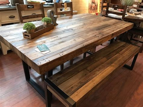 market table and chairs promo flea market dining table 4 chairs bench in