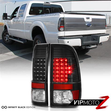 ford f250 tail lights out 2008 2016 ford f250 f350 f450 sd led black