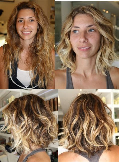 is it best to wash hair before coloring haircut before and after hair makeover to