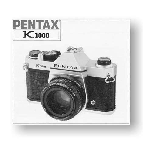 pentax manual pentax k1000 owners manual uscamera downloads