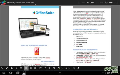 office suite 7 apk officesuite pro 7 v7 5 android скачать