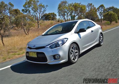 Kia Cerato Koup Turbo 2014 Kia Cerato Koup Turbo Review Performancedrive