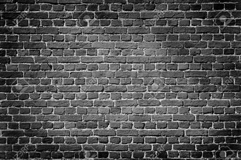 black brick wall old dark brick wall texture background stock photo