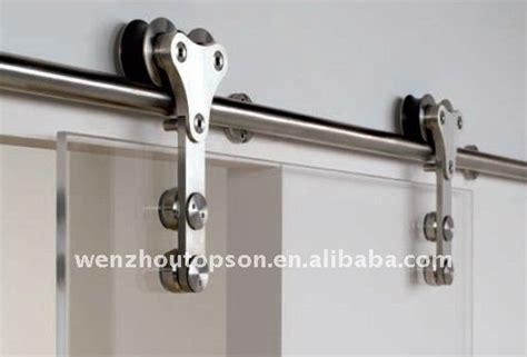 Stainless Steel Glass Sliding Barn Door Closet Hardware Sliding Glass Barn Door Hardware