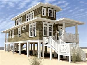 Beach House Plans Narrow Lot Plan 052h 0105 Great House Design