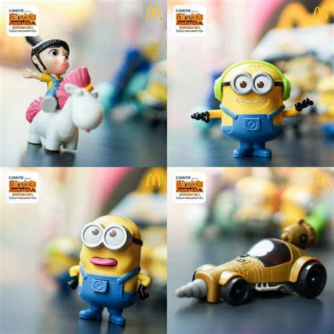 Happy Meal Despicable Me3 mcdonald s happy meal despicable me 3 ม นเน ยน 2 ม ย 6 ก ค 60 thpromotion