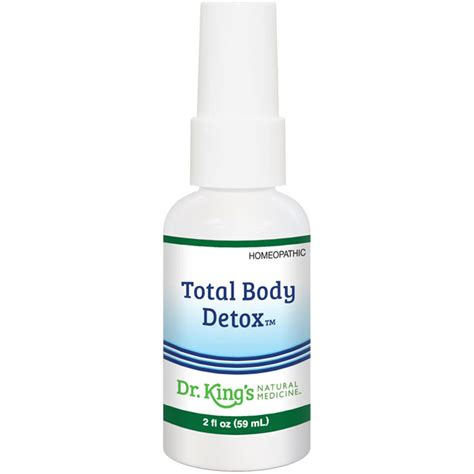 King Bio Homeopathic Total Detox by Total Detox 2 Oz King Bio Homeopathic Day Of
