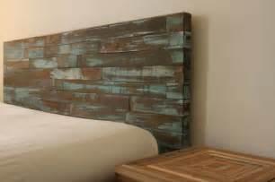 Reclaimed Wood Headboard Reclaimed Wood Headboard