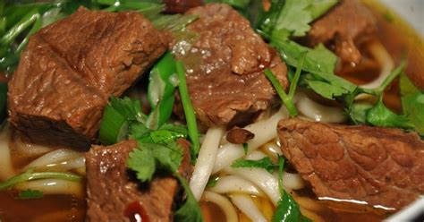 new year rice noodles slice of rice new year meal 5 braised beef