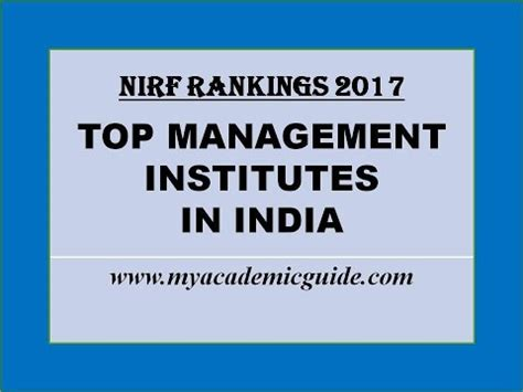 Mba In India Statistics by Top 25 Best Mba Management Colleges In India 2017