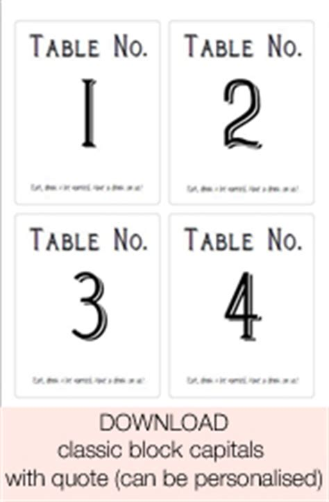 free printable table number cards template free printable wedding table numbers templates the