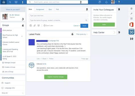 edmodo language settings edmodo the facebook of learning platforms