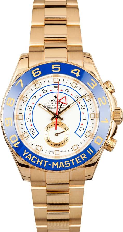 yacht master ii rolex yacht master ii 18k yellow gold 116688