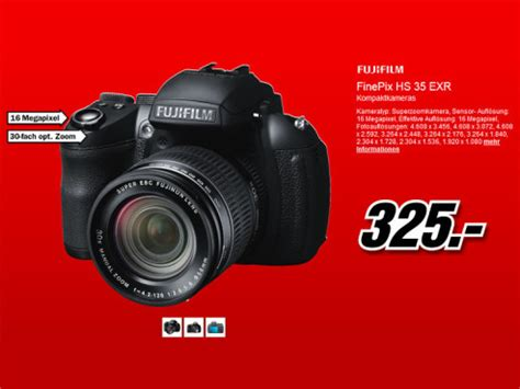 Kamera Fujifilm Hs35exr media markt prospekt zum 20 juni bilder screenshots computer bild