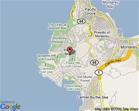 pebble california map pebble california map california map