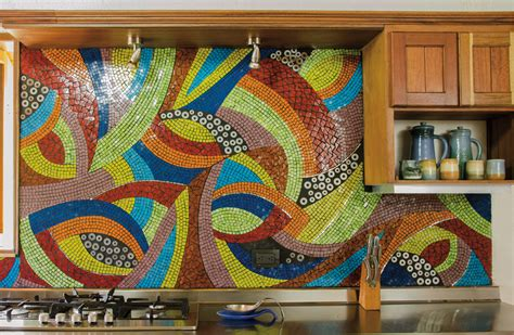 Kitchen Mosaic Designs 18 Gleaming Mosaic Kitchen Backsplash Designs