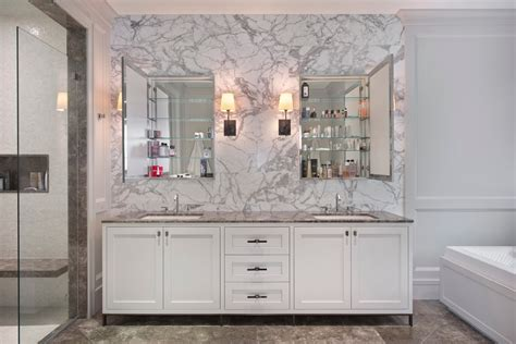 double mirrored bathroom cabinet mirrored medicine cabinet bathroom contemporary with