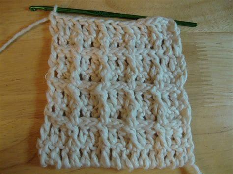 waffle stitch crochet tutorial waffle stitch dish cloth free pattern crochet pinterest
