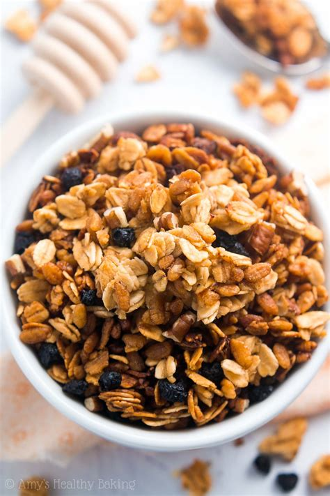 Glass Toaster Healthy 5 Ingredient Slow Cooker Granola Amy S Healthy