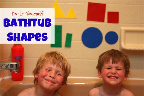 bathtub shapes diy bathtub shapes i can teach my child