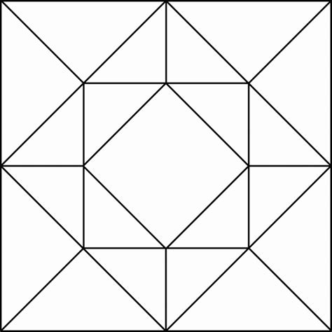 drawing with pattern blocks quilt pattern clipart clipartxtras