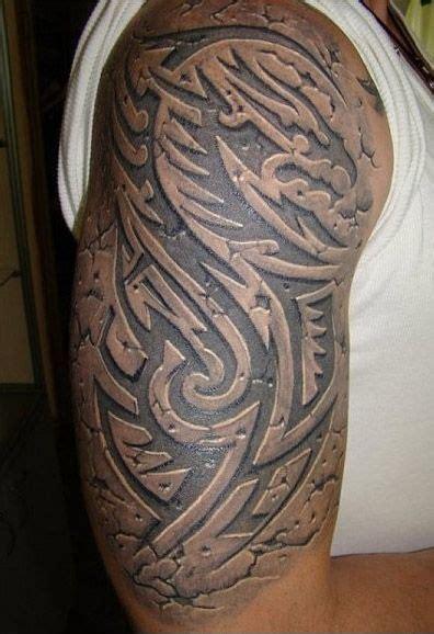 tattoo 3d brazo mejores tatuajes de tribales en 3d tatuajes de tribales