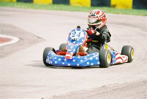 Ashton Demi Hits The Go Kart Track by Go Kart Dominator 5 Things You Don T About Ashton