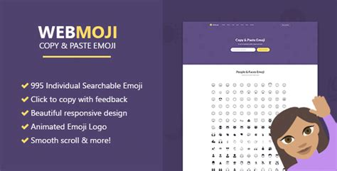 Webmoji Searchable Copy Paste Emoji Directory free nulled webmoji searchable copy paste emoji