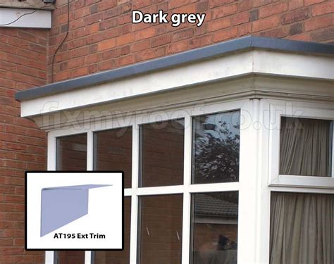 Small Bay Window fibreglass bay roofs choose a style and colour the lead