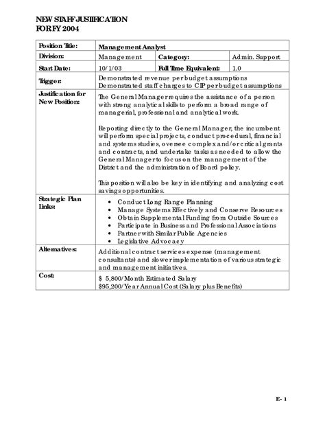 Justification Letter To Hire Staff Other Template Category Page 622 Sawyoo