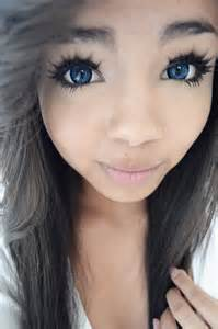 blue colored contacts for brown korean big eye circle lenses korean skin care makeup
