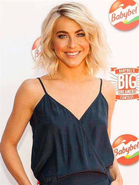 what kind of hairstyle does julienne huff have in safe haven julianne hough signature hairstyle
