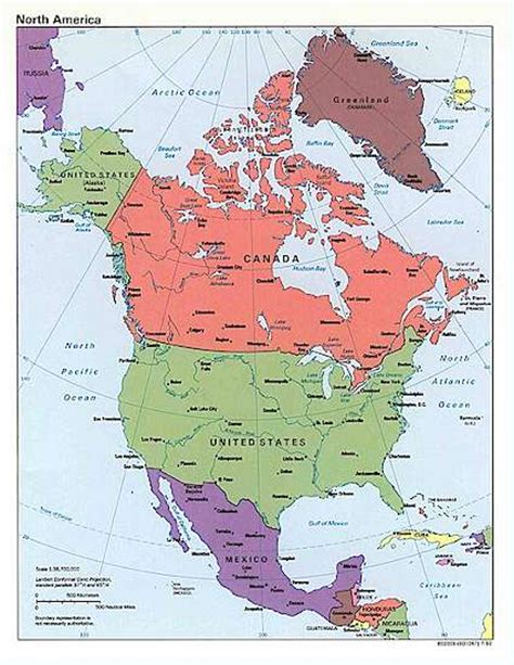 map of us canada and mexico living travel usa canada mexico